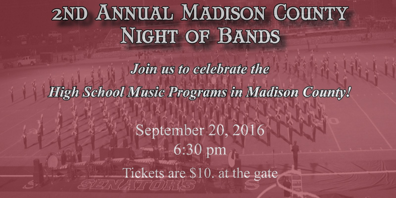 2016 Madison County Night of Bands