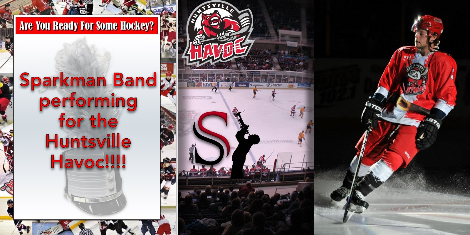 SHS Band Hockey Night with the Havoc!